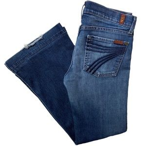 7FAM Dojo Flare Leg Jeans